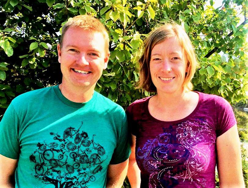 Duncan Whittick and Michelle Ravi